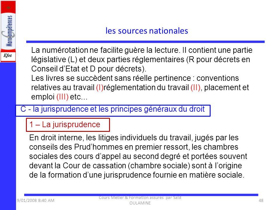 La numérotation ne facilite guère la lecture. Il contient une partie législative (L) et deux parties réglementaires (R pour décrets en Conseil dEtat e