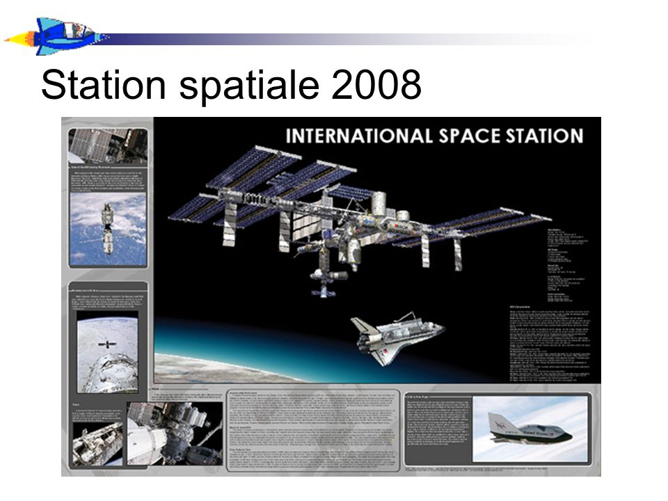 Station spatiale 2008