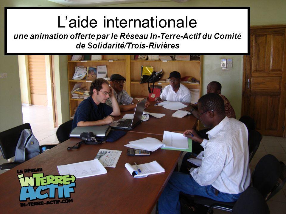Laide internationale une animation offerte par le Réseau In-Terre-Actif du Comité de Solidarité/Trois-Rivières