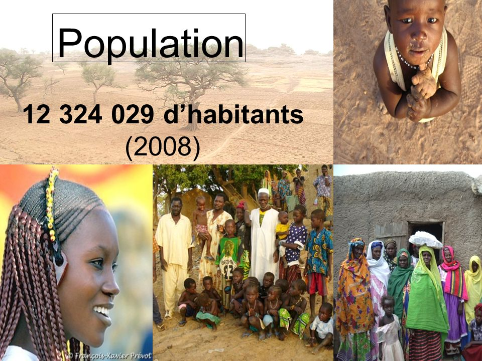 Population 12 324 029 dhabitants (2008)