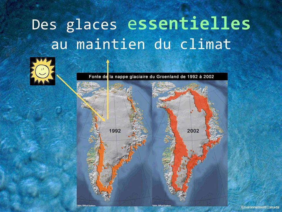Des glaces essentielles au maintien du climat Environnement Canada