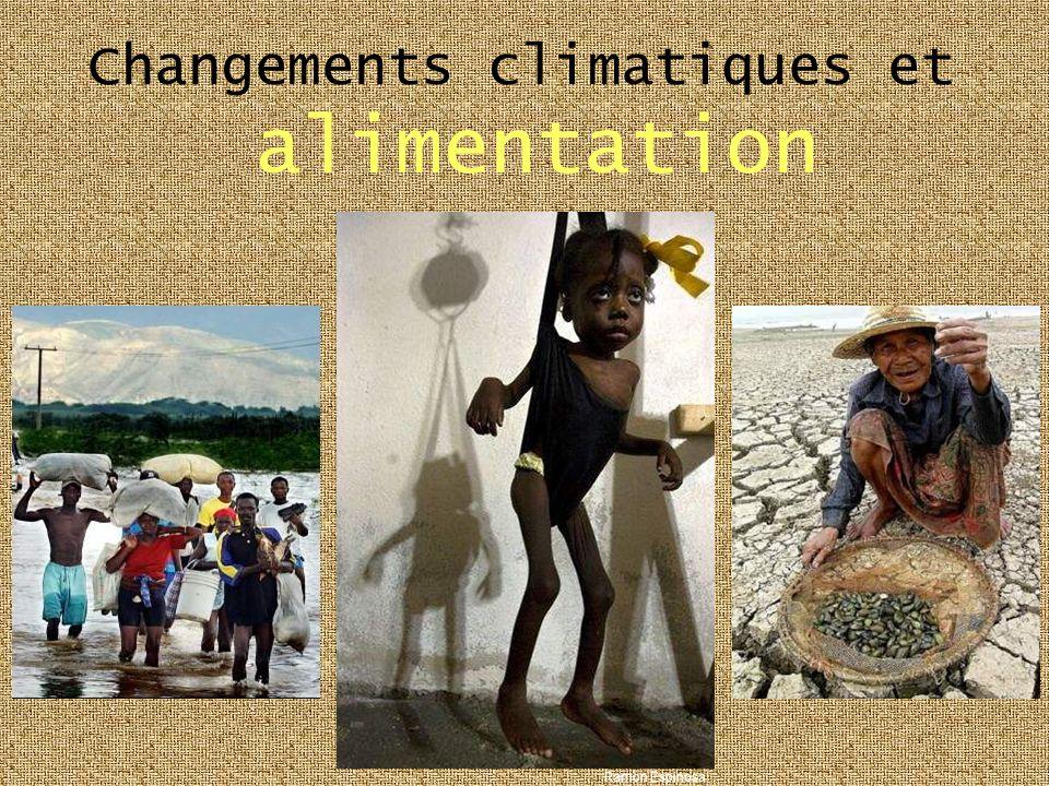 Changements climatiques et alimentation Ramon Espinosa