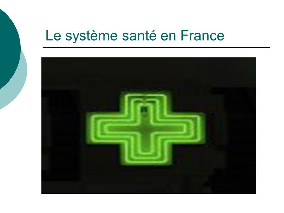 Le système santé en France
