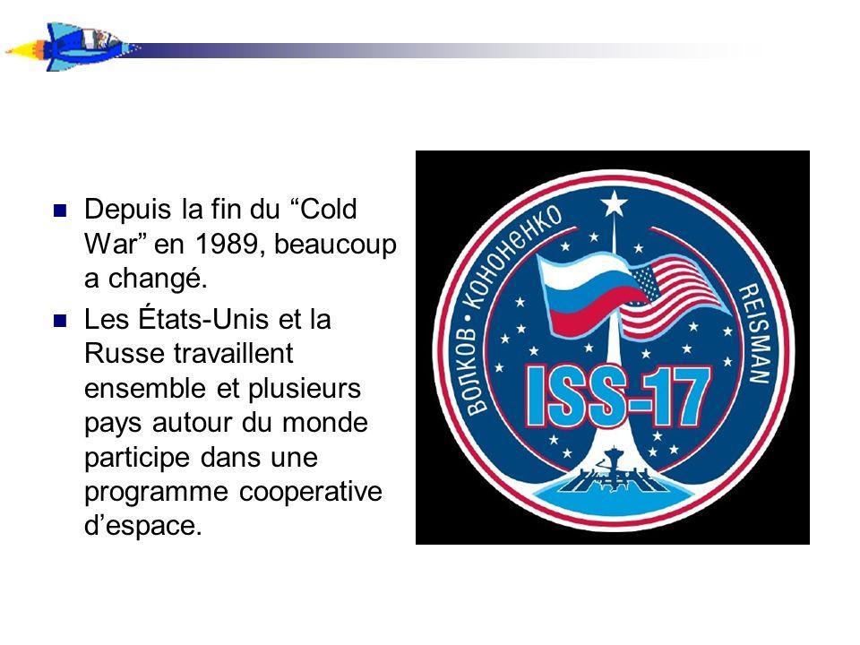 Animation Le plus grand exemple de ceci est le cooperation entre les pays est le ISS, le Station Spatiale Internationale.