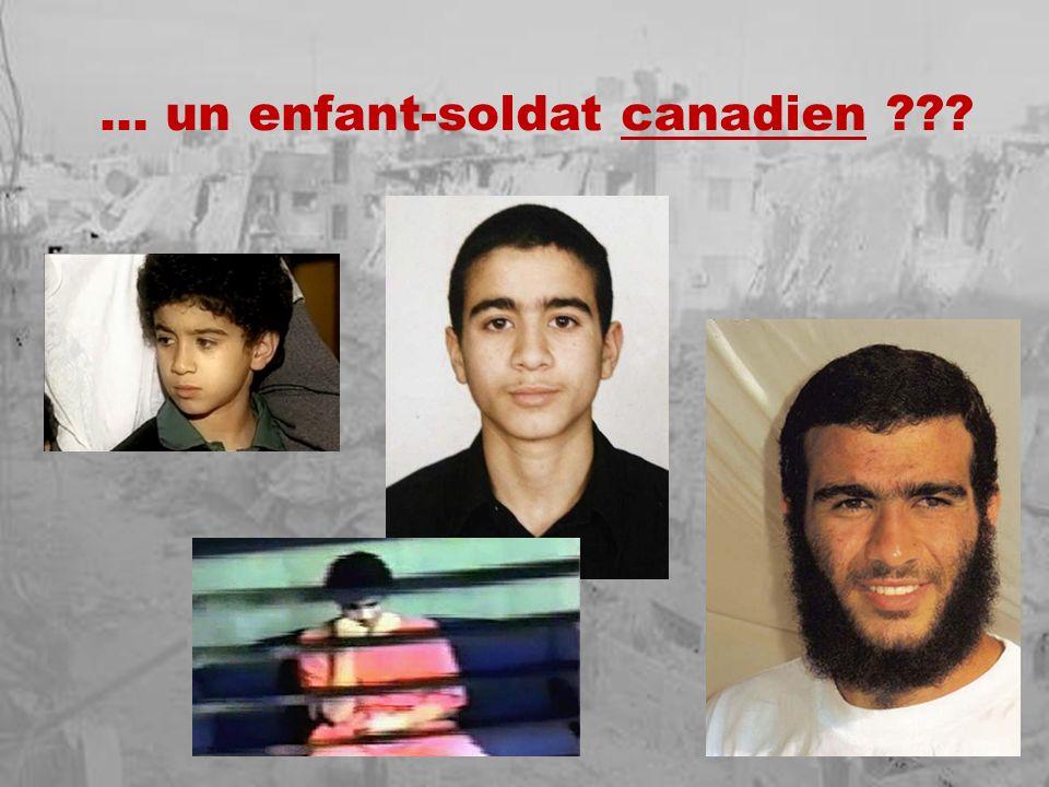 … un enfant-soldat canadien ???
