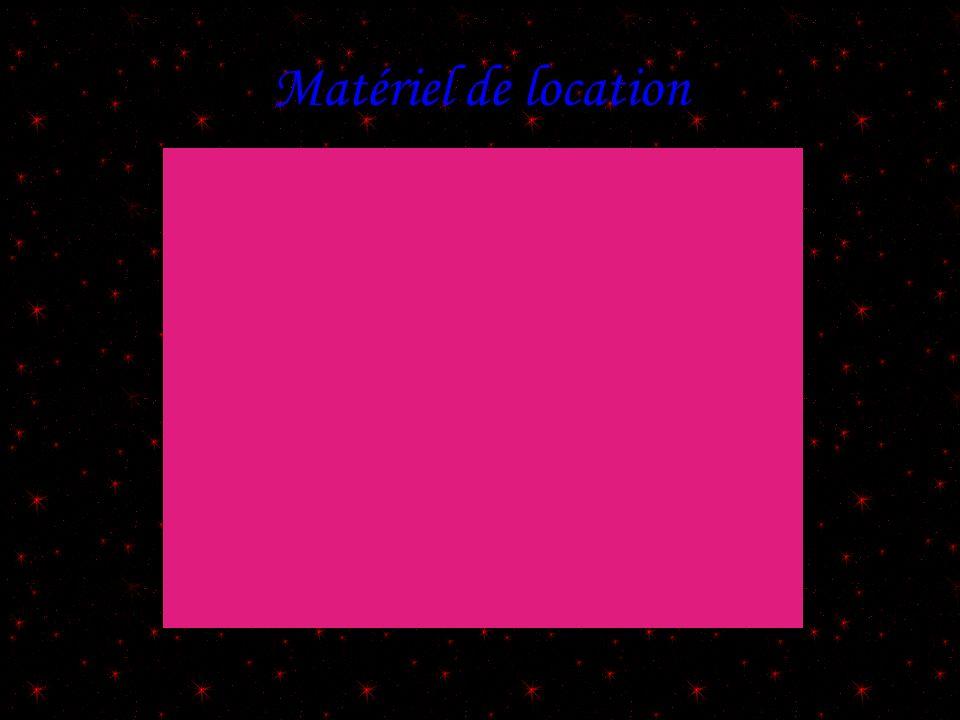 Matériel de location