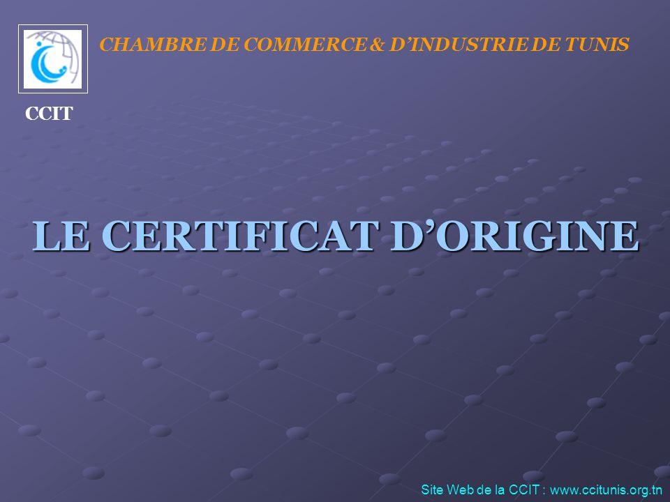 ETAPE N° 3 : Remplissage du certificat dorigine par lexportateur Une fois le taux dintégration obtenu, lEntreprise procède au remplissage du certificat dorigine correspondant.