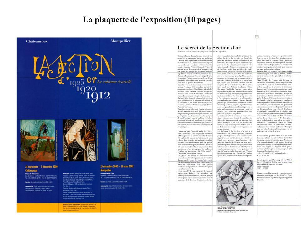 La plaquette de lexposition (10 pages)