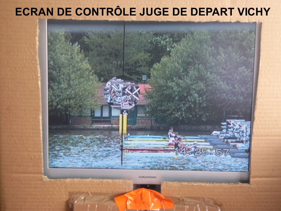 ECRAN DE CONTRÔLE JUGE DE DEPART VICHY