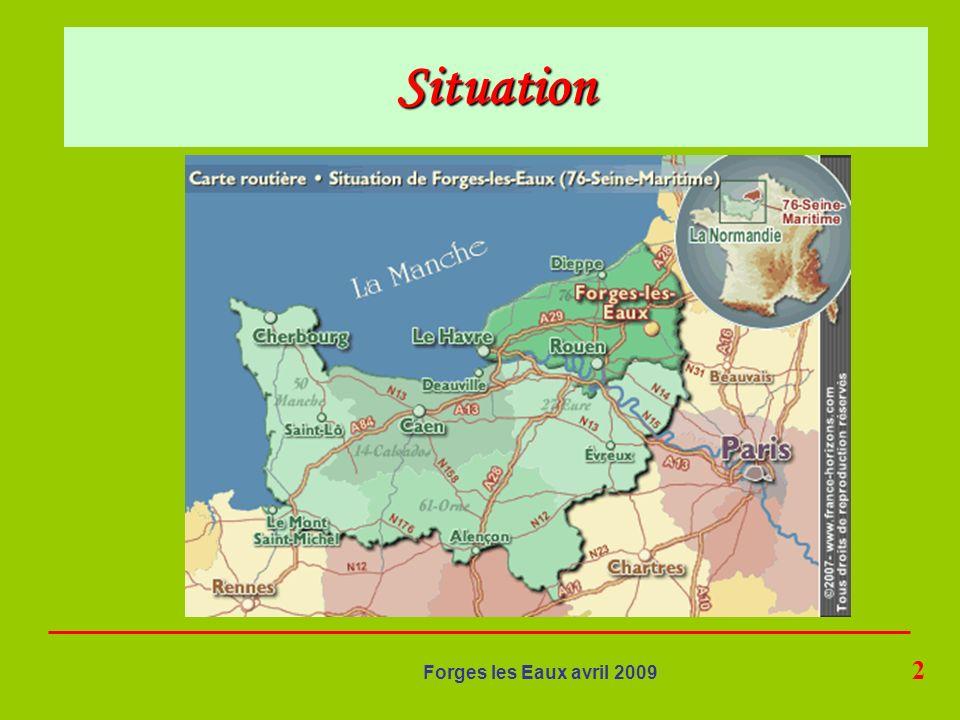 23 Forges les Eaux avril 2009 Retour par GERBEROY classé parmi les plus beaux villages de France