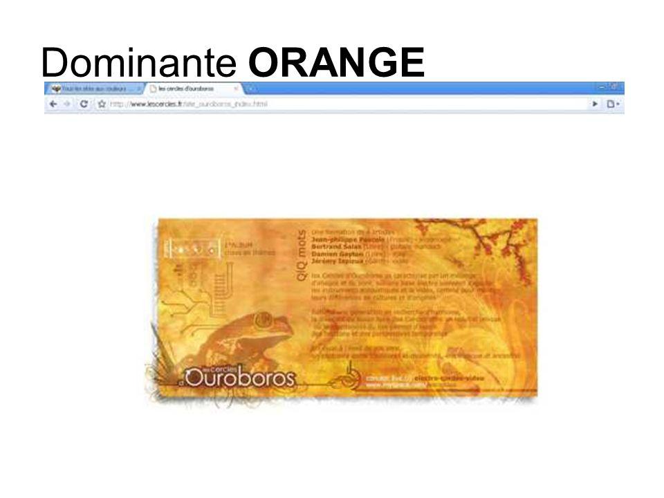 Dominante ORANGE