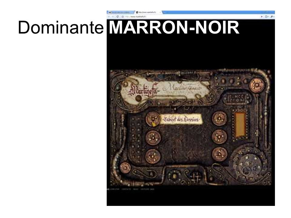 Dominante MARRON-NOIR