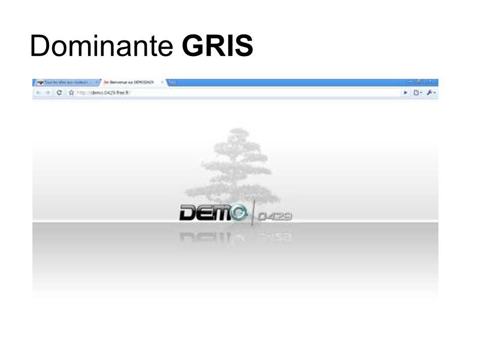 Dominante GRIS