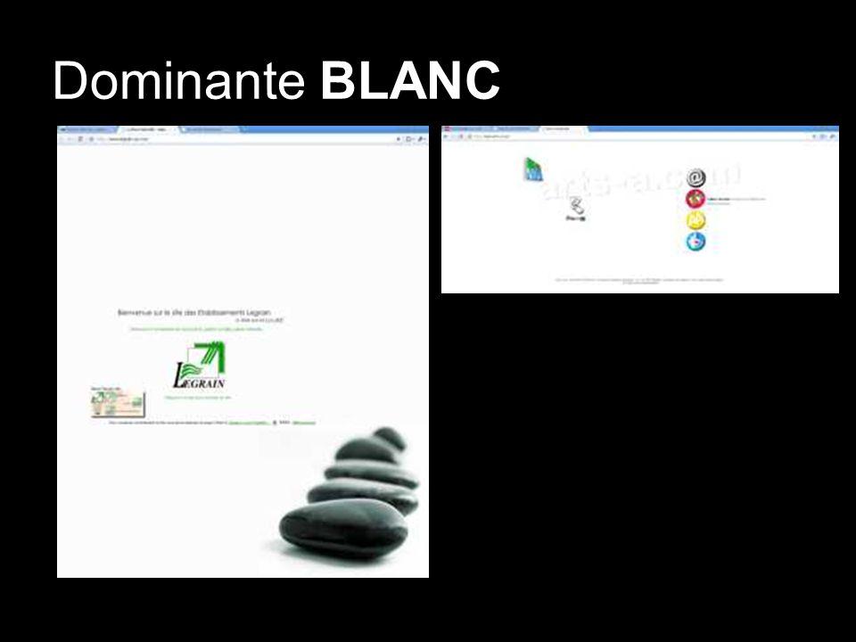 Dominante BLANC