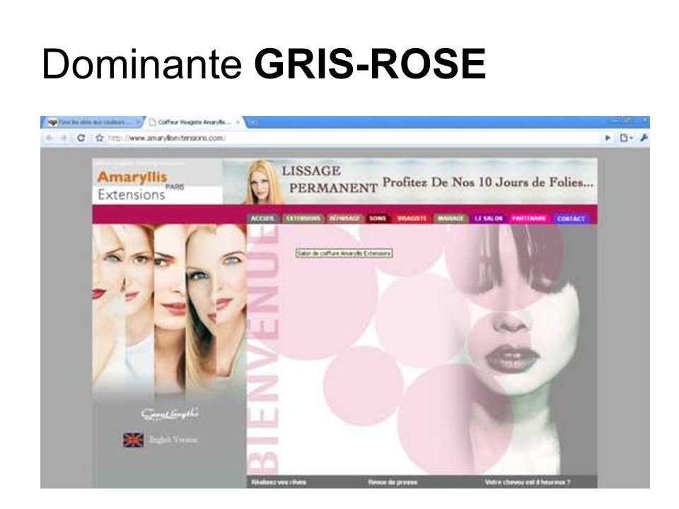 Dominante GRIS-ROSE