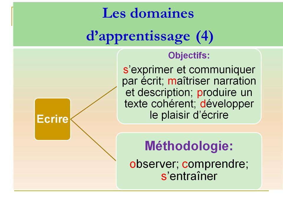 Les domaines dapprentissage (4)