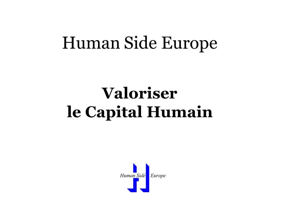 Human Side Europe Valoriser le Capital Humain