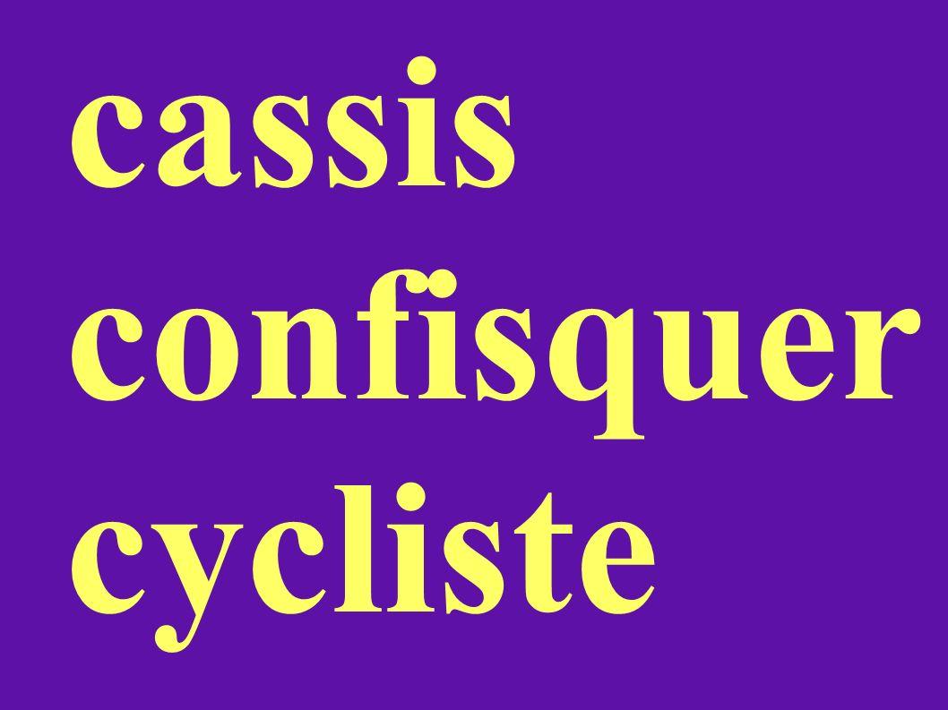 cassis confisquer cycliste