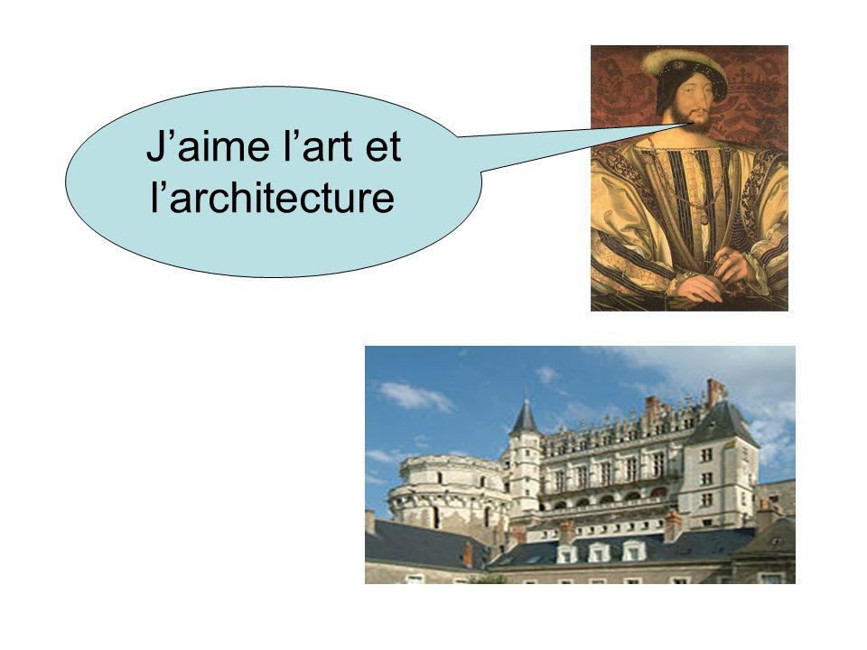 Jaime lart et larchitecture