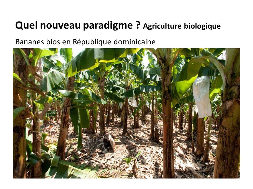 Organic Conventional Quel nouveau paradigme .