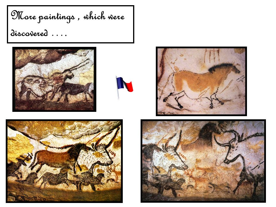 More paintings, which were discovered ….
