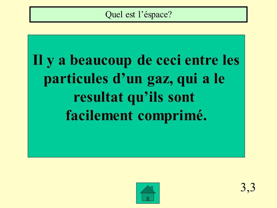 3,2 Les Indices dune Réaction Chemique inclus la production de gaz, un changement de couleur, Production de lumière ou chaleur, et la formation de cec