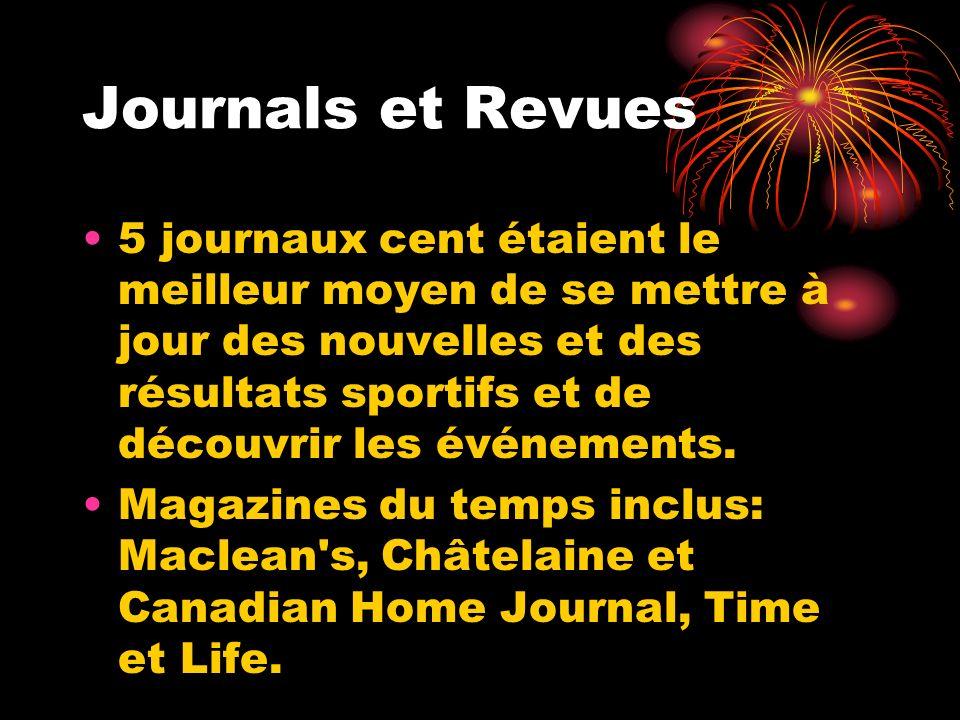 Journals et Revues 5 journaux cent étaient le meilleur moyen de se mettre à jour des nouvelles et des résultats sportifs et de découvrir les événement