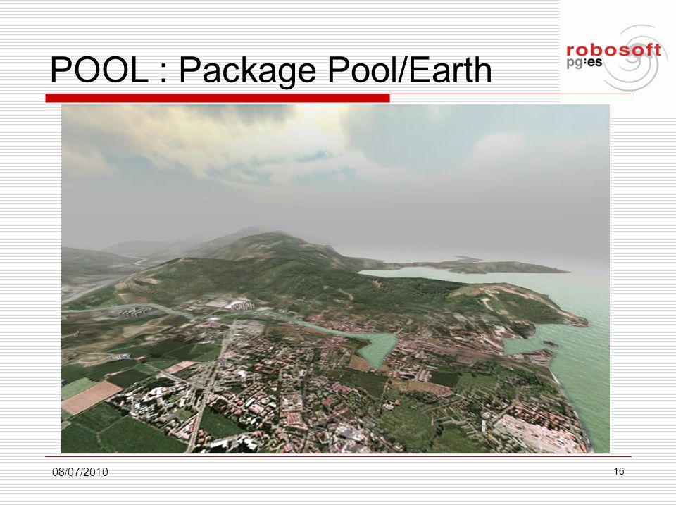 POOL : Package Pool/Earth 08/07/2010 16