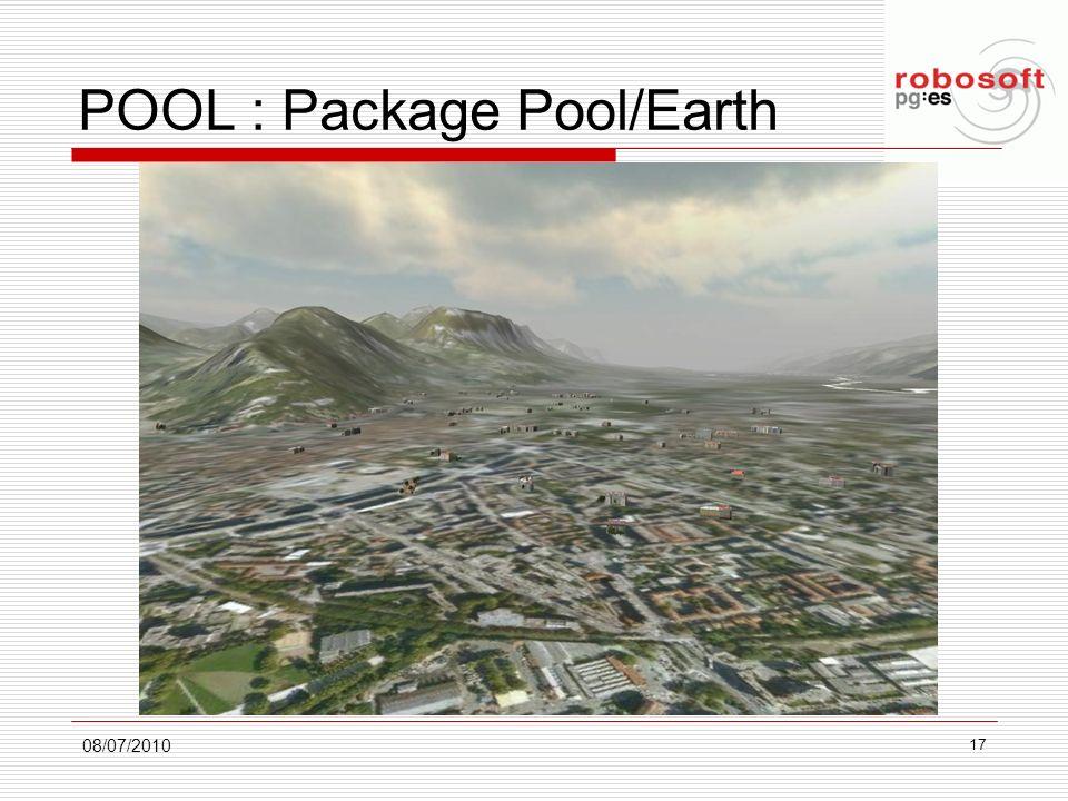 POOL : Package Pool/Earth 08/07/2010 17