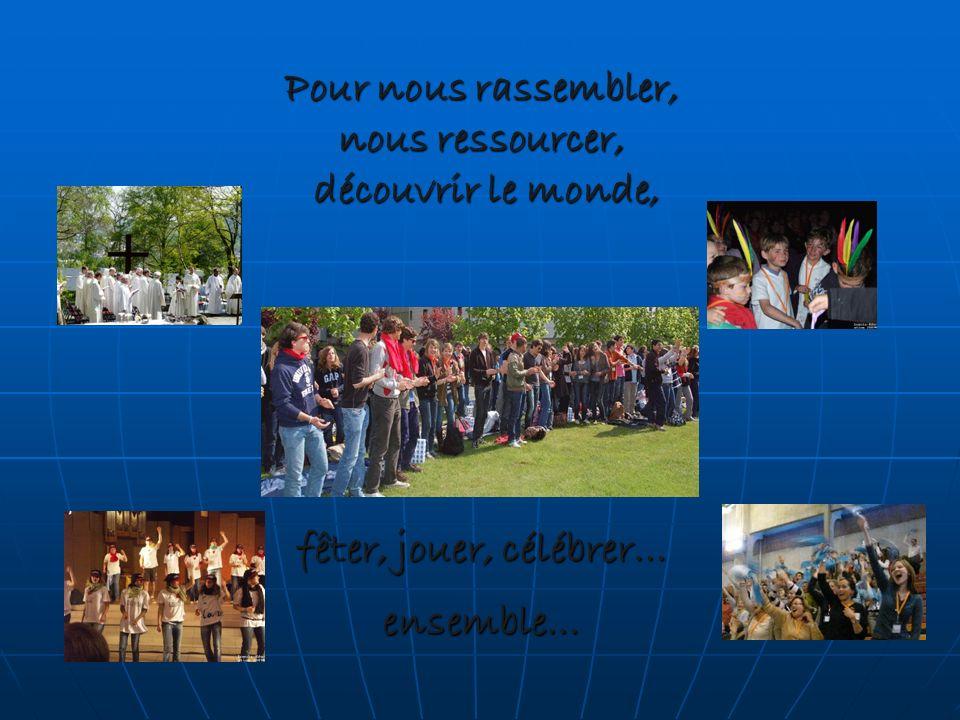 Pour nous rassembler, nous ressourcer, découvrir le monde, fêter, jouer, célébrer… ensemble…