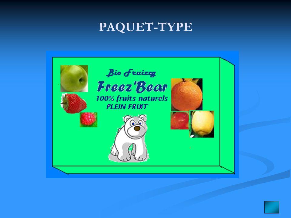 PAQUET-TYPE