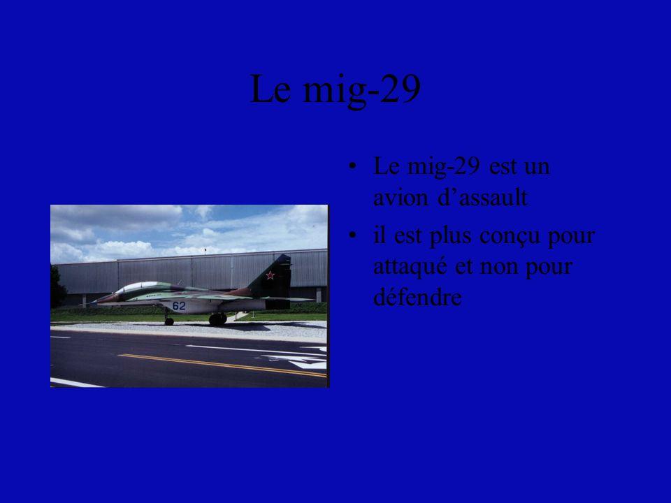 Le Rafale Le rafale a été lancé en 1982 Les français ont plusieurs de ces avions air et marine Les français l utilise surtout pour la défense