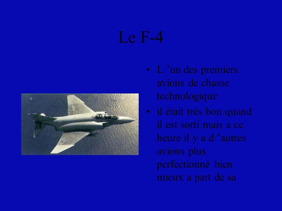 Le F-14 LE F-14 utilisé surtout par les canadiens très bon pour un petit mission ou en mission de reconnaissance ils les utilisent aussi pour enseigné