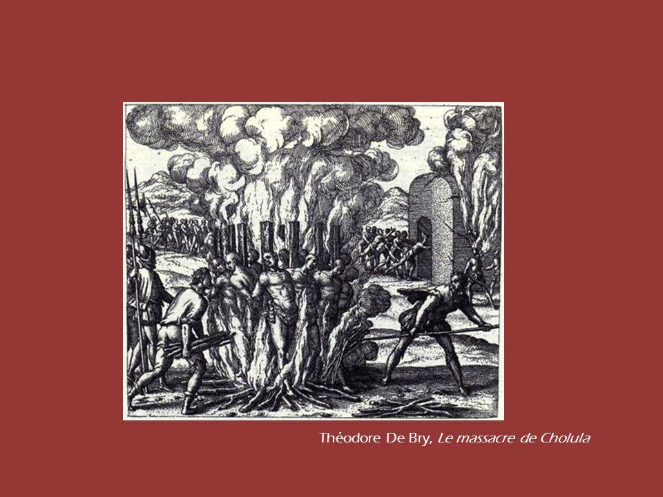 Théodore De Bry, Le massacre de Cholula