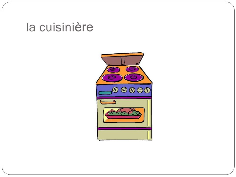 la cuisini ère