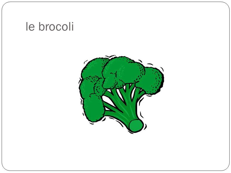 le brocoli