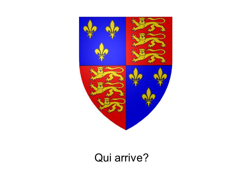 Le roi de France arrive!