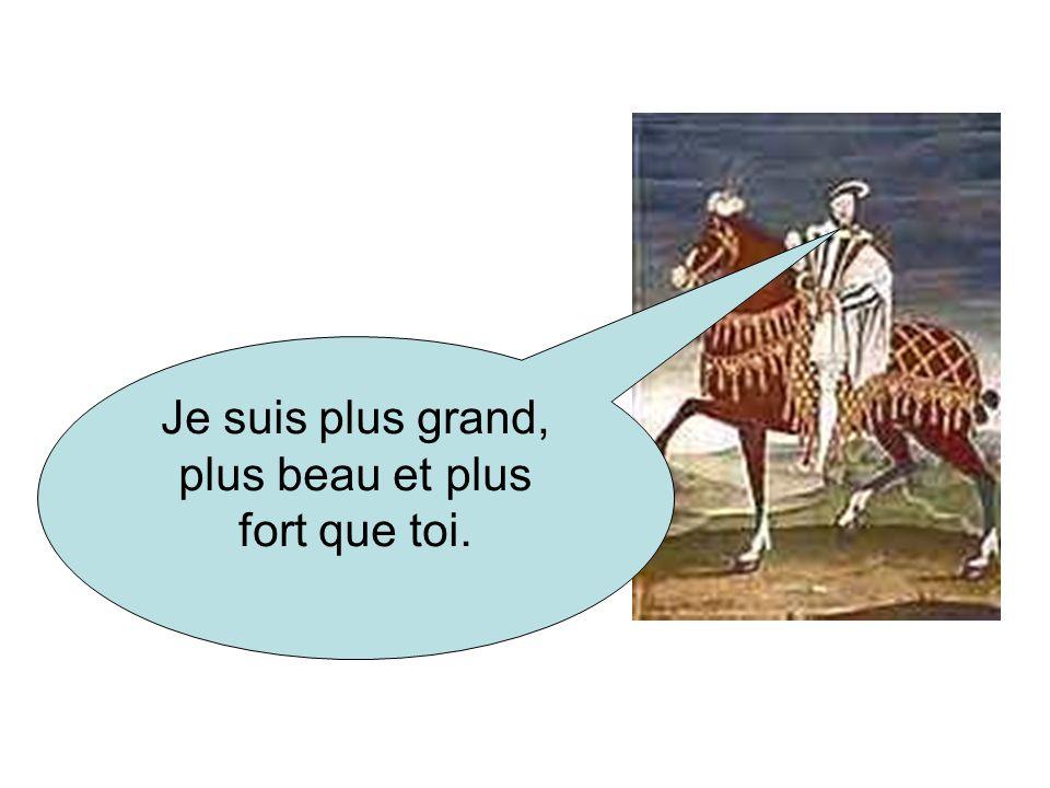 Bonjour François 1er. Bonjour Henri V111. Les rois arrivent au camp.
