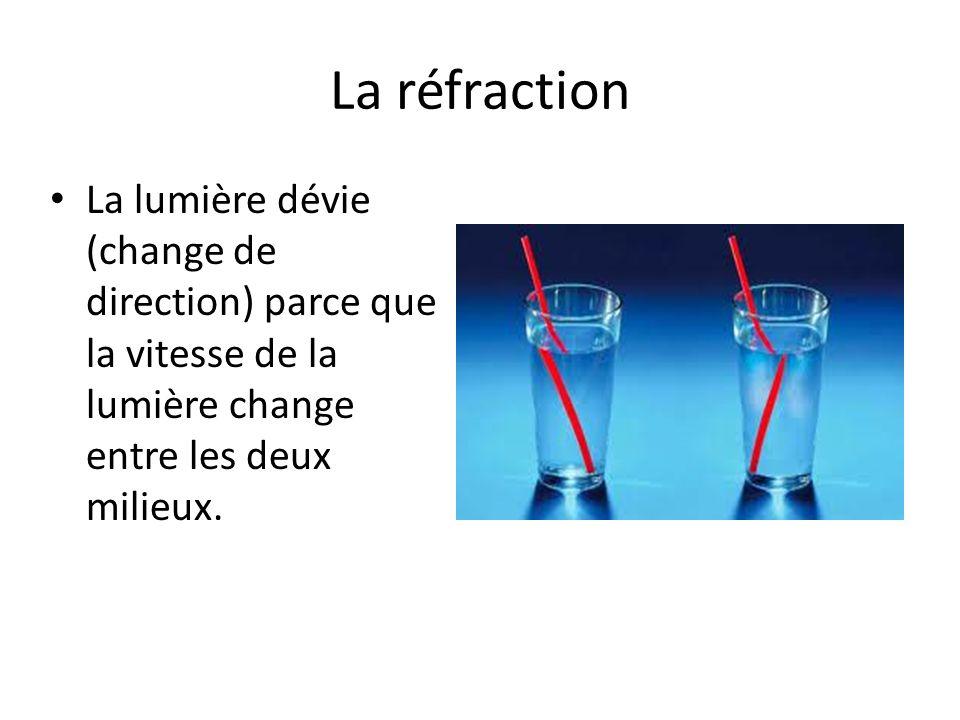 La déviation de la lumière peut rendre difficile de voir exactement où un objet est situe dans l eau.
