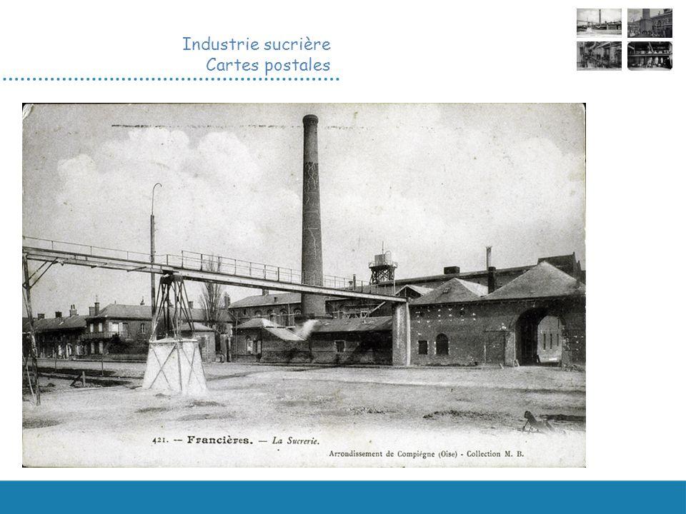 Industrie sucrière Cartes postales