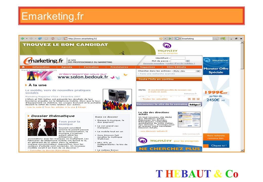 T HEBAUT & CoT HEBAUT & Co Le Dico du net