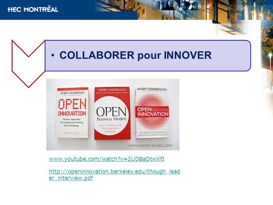 www.youtube.com/watch?v=2UDBaDtwXfI http://openinnovation.berkeley.edu/though_lead er_interview.pdf