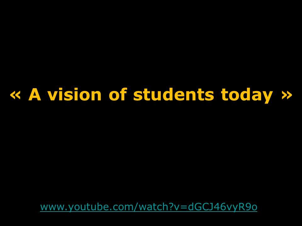 www.youtube.com/watch?v=2lXh2n0aPyw www.youtube.com/watch?v=dGCJ46vyR9o « A vision of students today »