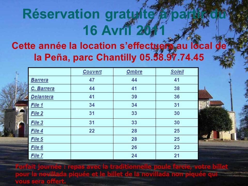 Réservation gratuite à partir du 16 Avril 2011 CouvertOmbreSoleil Barrera474441 C.