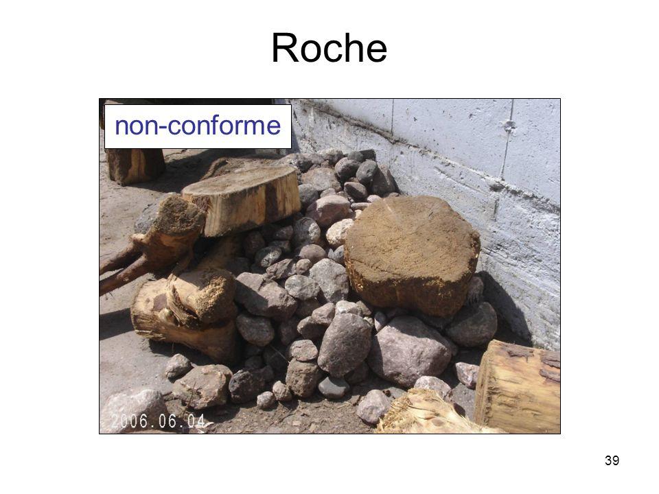 39 Roche non-conforme