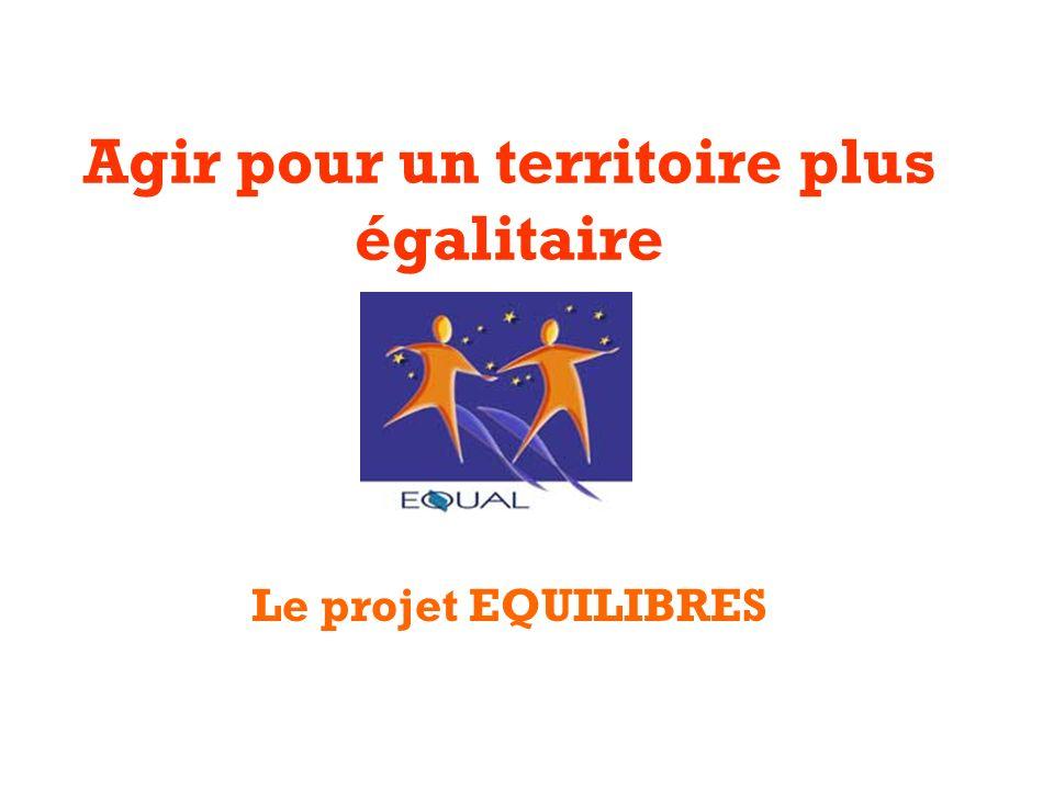 Agir pour un territoire plus égalitaire Le projet EQUILIBRES