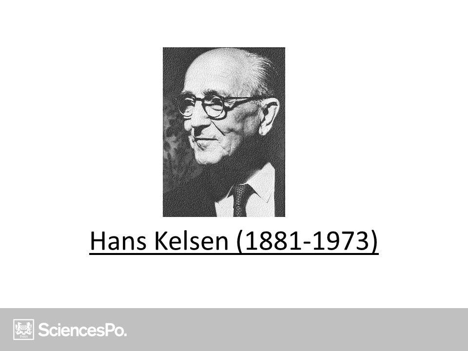 Hans Kelsen (1881-1973)