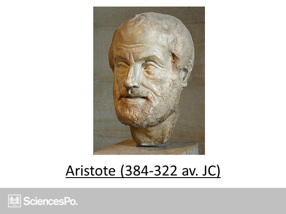 Aristote (384-322 av. JC)