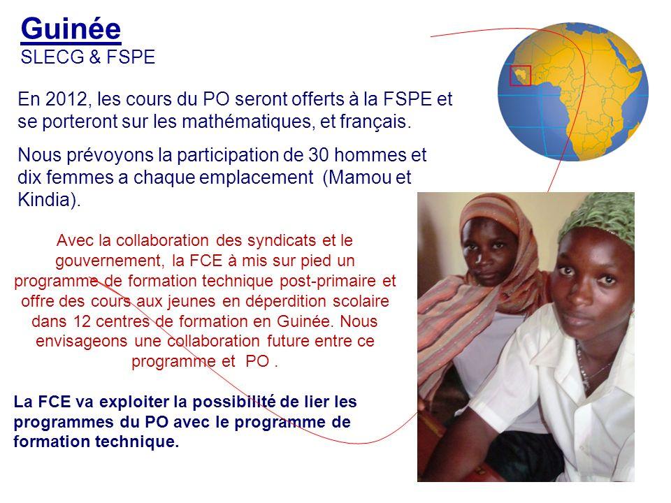 Togo FESEN Le premier PO au Togo a eu lieu en 1967.