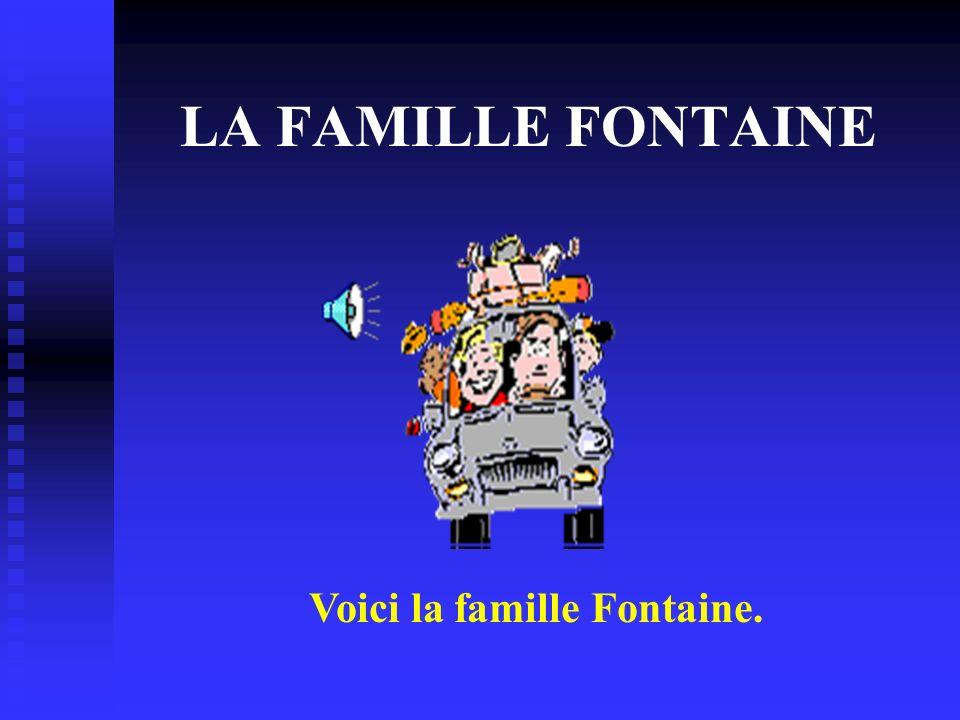Le Père Voici le père. Il sappelle Paul Fontaine. Il est de Dijon. Il a 42 ans.